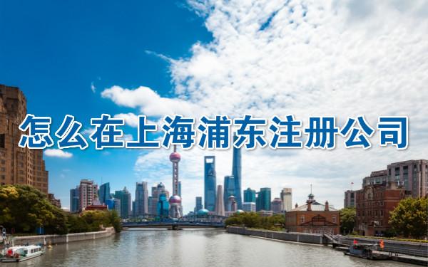 怎么在上海浦东注册公司