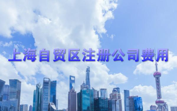 上海自贸区注册公司费用
