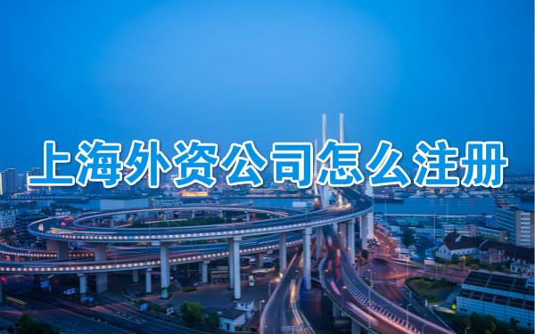 上海外资公司怎么注册
