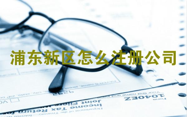 浦东新区怎么注册公司