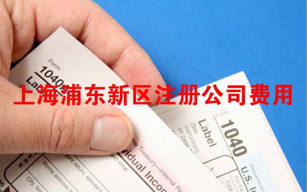 上海浦东新区注册公司费用