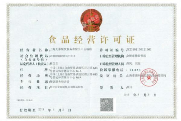 上海食品经营许可证办理在哪里办