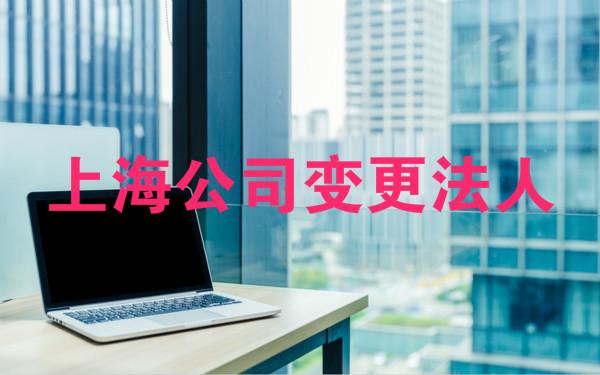 上海公司变更法人怎么做