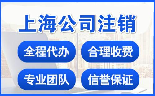 上海公司注销怎么登报